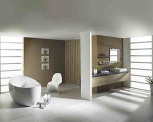 salle de bains pure - Salle De Bain Epuree