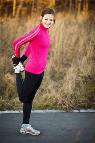l'activité physique n'est pas une source de mauvaise fatigue.