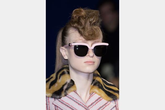 Les lunettes de soleil retro du défilé Kenzo