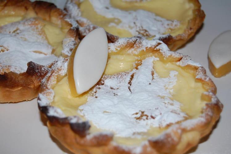 Tartelette aux calissons
