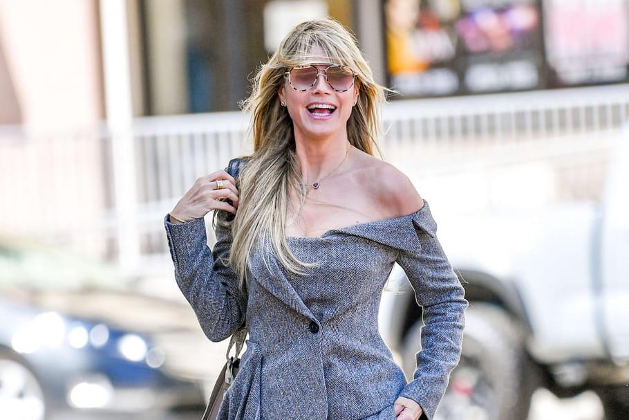 """Heidi Klum, atteinte par le coronavirus? """"Je ne me sens pas bien"""""""