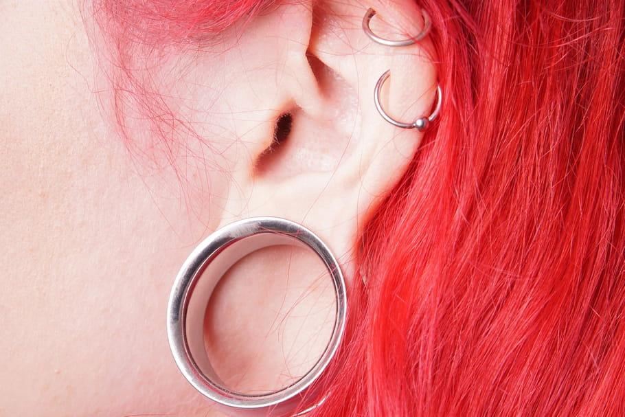 couleur rapide produits de commodité mignon pas cher Comment mettre un écarteur d'oreille