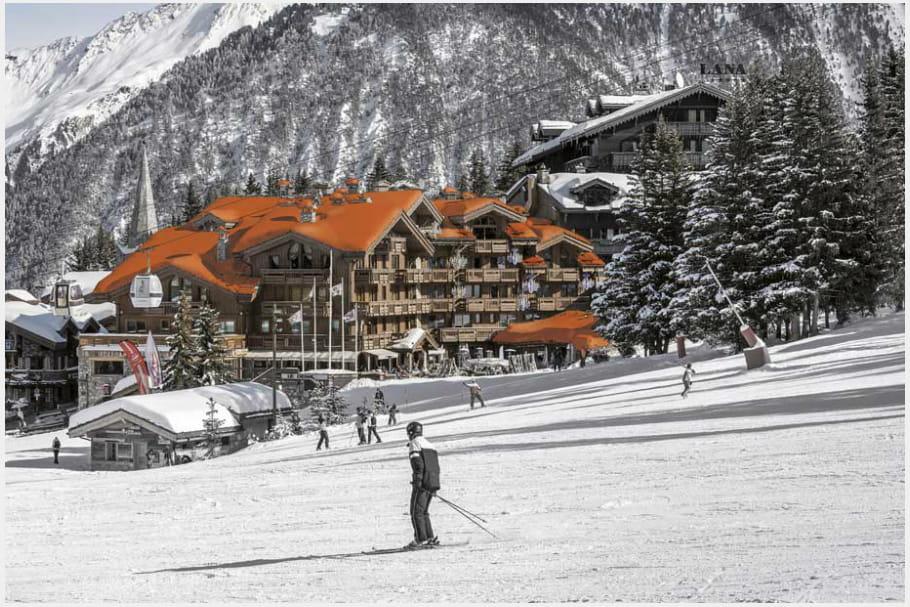 Hotel Les Grandes Alpes Courchevel