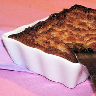 tarte au chocolat façon crumble