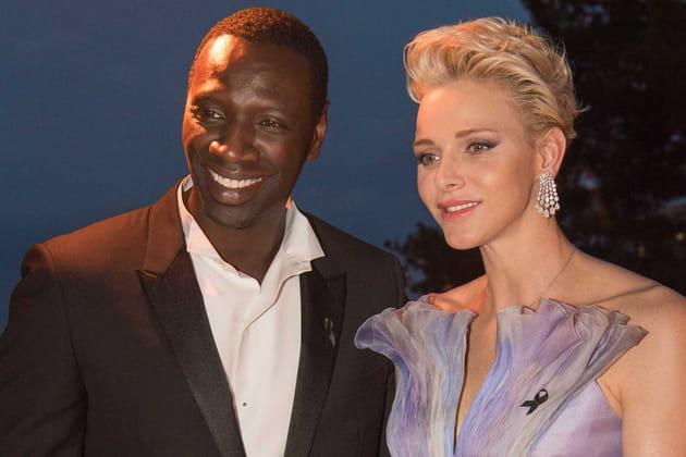 Charlene et Omar Sy, stars de la soirée