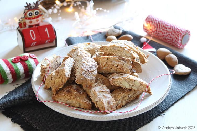 Biscuits croquants aux amandes entières et à la cannelle, Pumpernickel