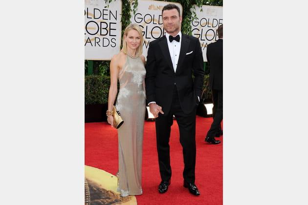 Glamour à la cérémonie des Golden Globe en 2014