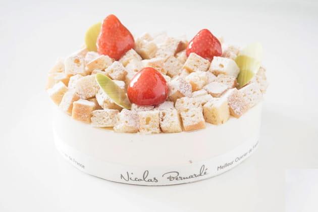 Le fraisier de Nicolas Bernardé