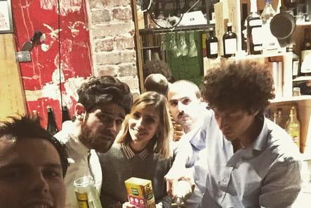 Juan Arbelaez, soirée entre amis