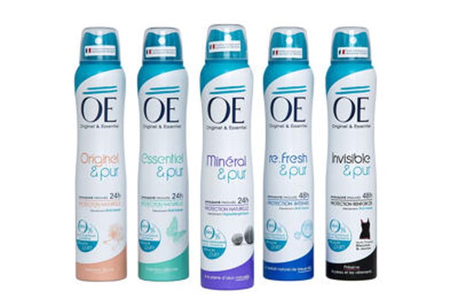 Les déodorants OE font leur grand retour