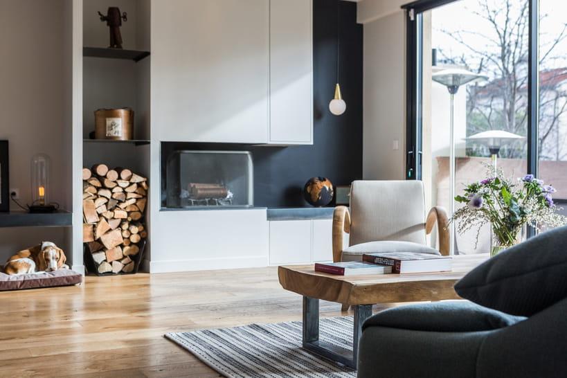 Salon scandinave : une pièce à vivre chaleureuse