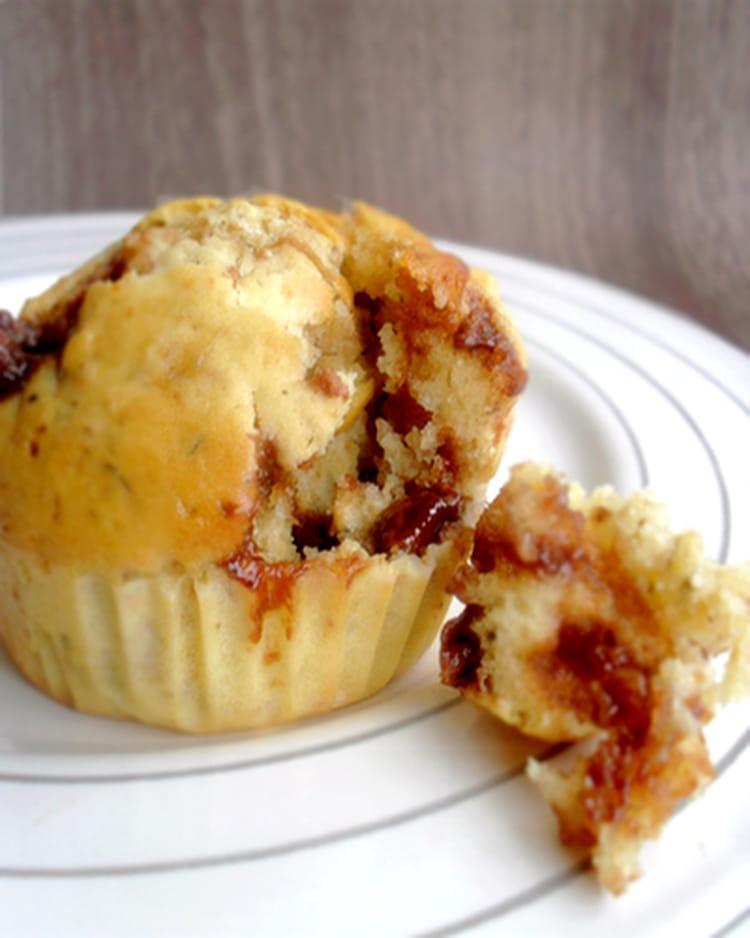 Recette De Muffins Aux Flocons D Avoine Et Pepites De Chocolat La