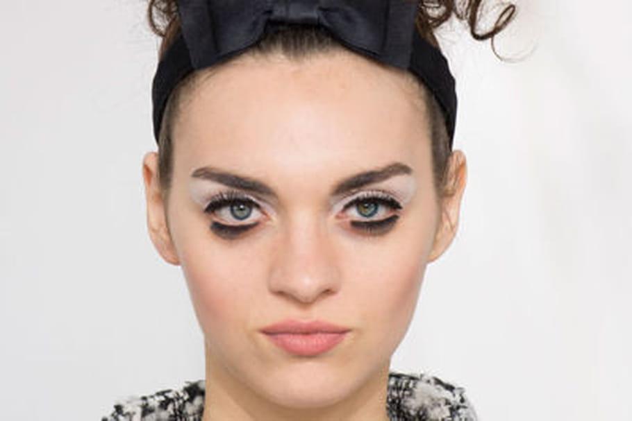La mise en beauté couture du défilé Chanel