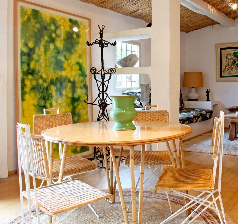 Salon salle manger nature for Salle a manger nature