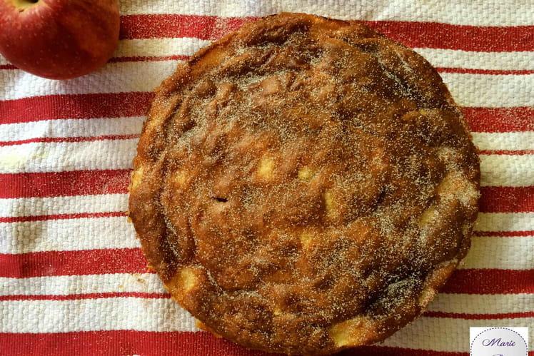 Gâteau aux pommes ultra rapide