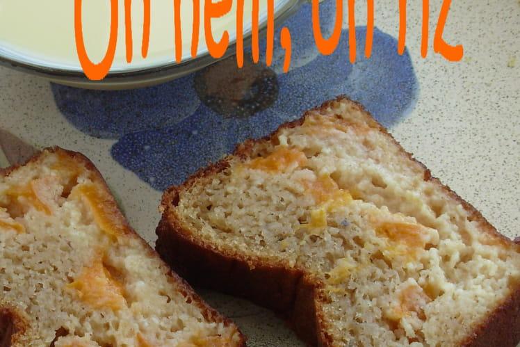 Cake aux abricots et aux épices