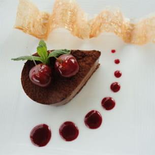 larme chocolat griottes