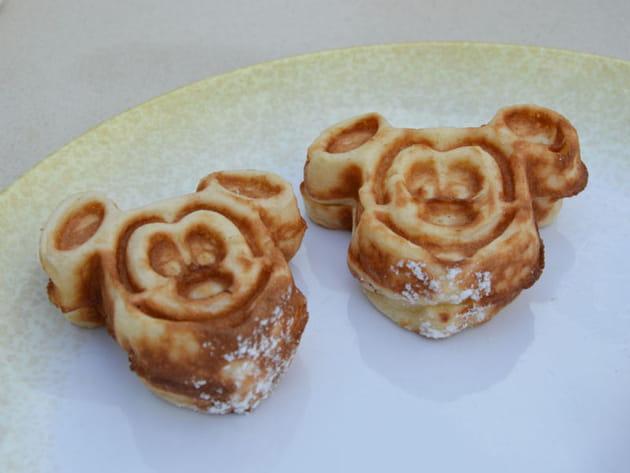 Des pancakes Mickey trop mignons