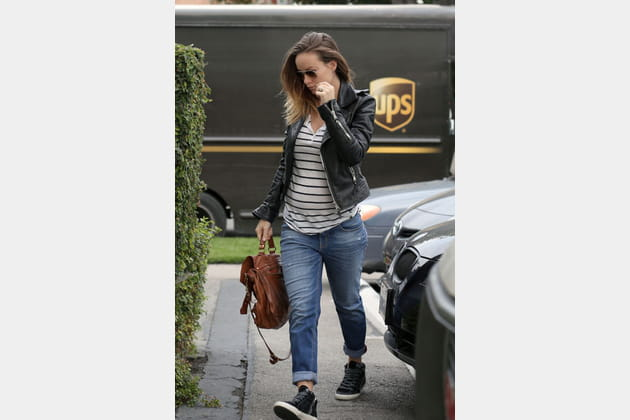 Olivia Wilde et son jean boyfriend maternité