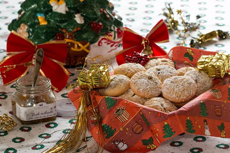 Sablés fourrés à la confiture de Noël