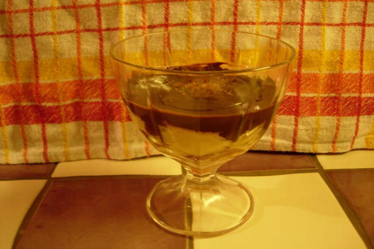 Gâche à la crème anglaise & chocolat