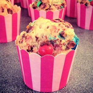 muffins m&m's et coco