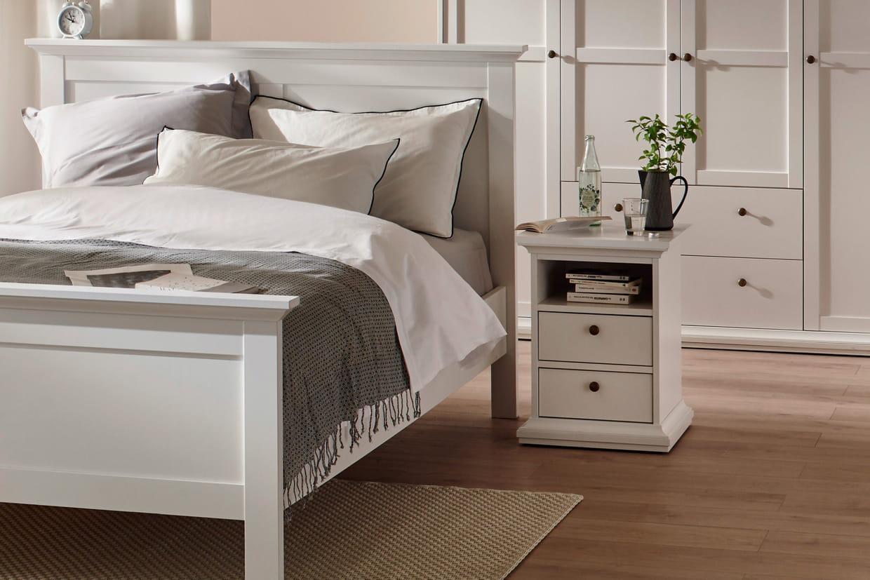 table de chevet harlington par conforama. Black Bedroom Furniture Sets. Home Design Ideas