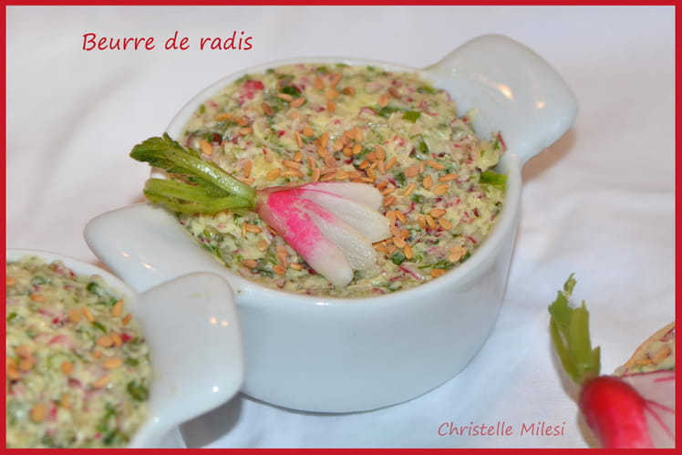 Beurre de radis