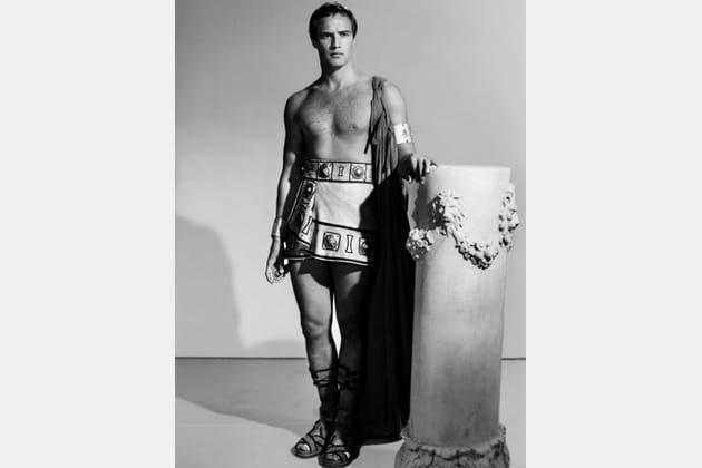 Mort Marlon Brando Jules César, 1953