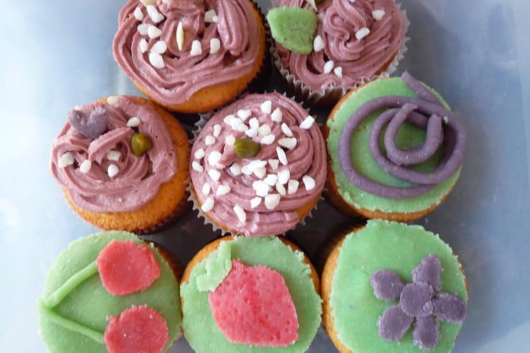Cupcakes à la pâte d'amandes maison