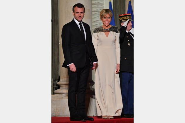 Brigitte Macron le 20mars 2018