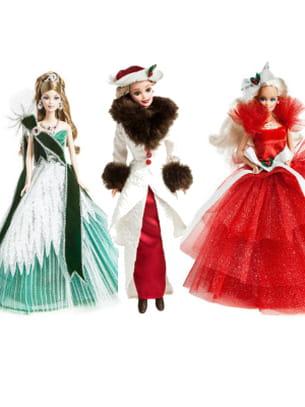 Barbie joyeux no l 25 ans de poup es collector - Barbie de noel 2012 ...