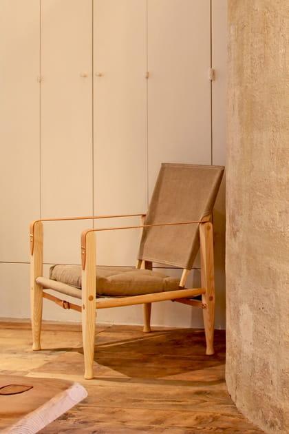 Un fauteuil de campagne