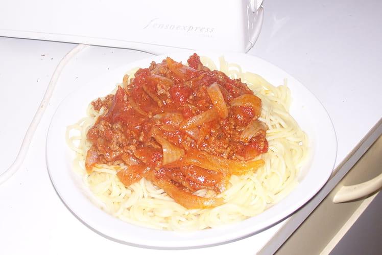 Spaghettis à la génoise