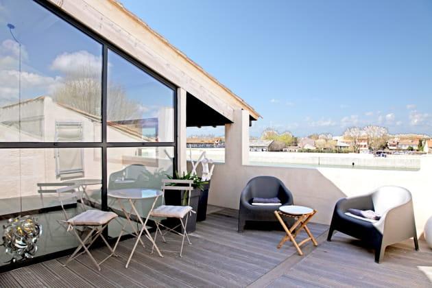 La terrasse contemporaine