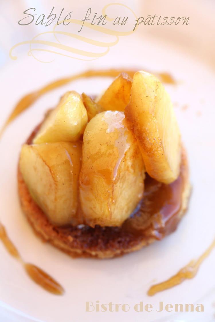 Recette de sabl s fins au p tisson la recette facile - Cuisiner patisson blanc ...