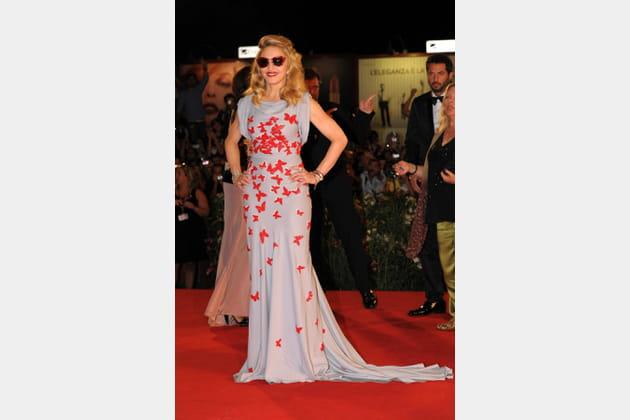 Madonna le 1erseptembre 2011