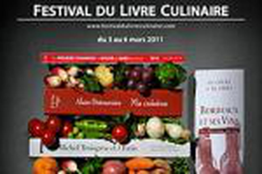 Le 2e Festival du livre culinaire se tient ce week-end à Paris