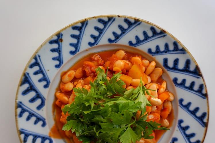 Loubia ou mijoté gourmand de haricots aux épices