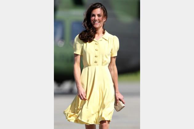 Kate Middleton le 7juillet 2011