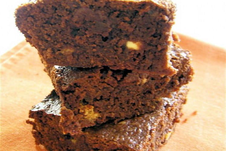 Brownie aux trois chocolats