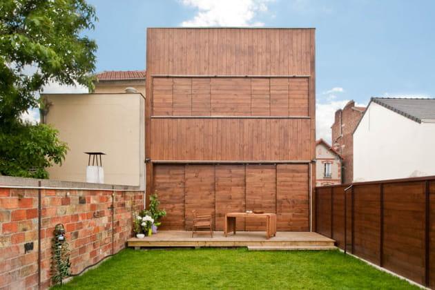 Une jolie façade en bois