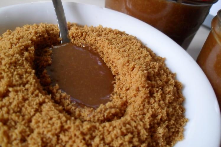 Caramel au beurre salé aux spéculoos