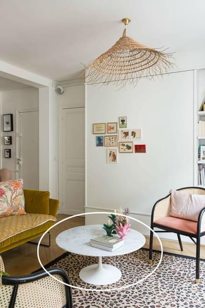 La table basse Tulipe d'Eero Saarinen pour Knoll