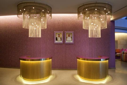 Ambiance couture à l'hôtel Missoni Koweït