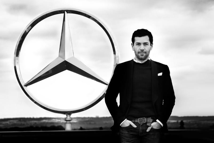 """Alexis Mabille en route vers """"Les Étoiles Mercedes-Benz"""""""