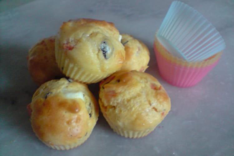 Mini muffins à la provençale