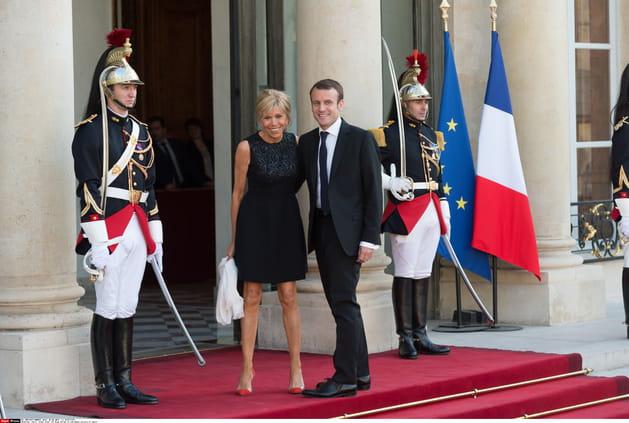 """Le """"couple présidentiable"""" à l'Elysée"""