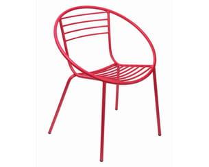 fauteuil en métal de monoprix