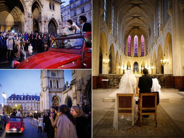 La cérémonie religieuse au coeur de Paris